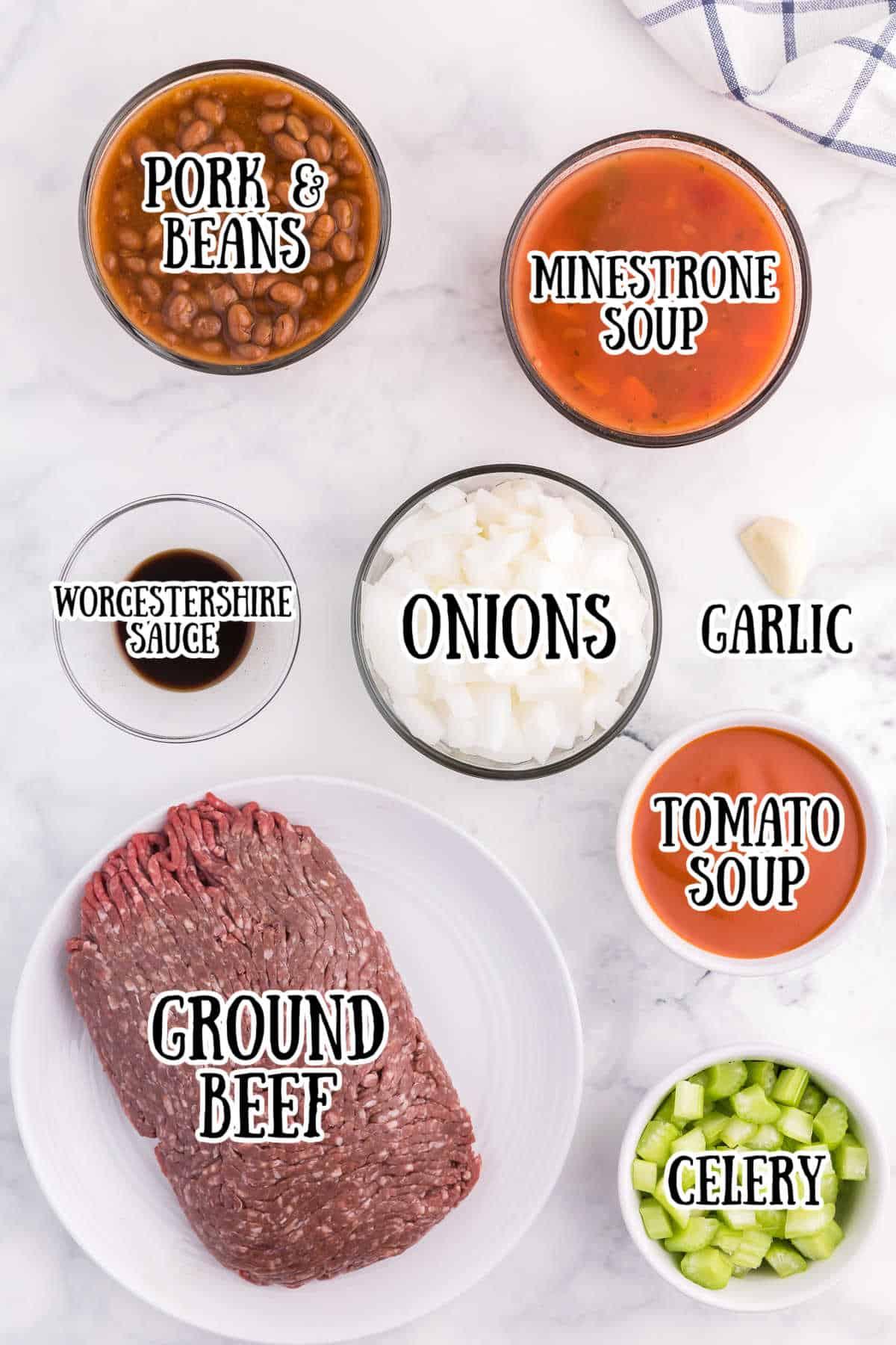 Hodge Podge Soup ingredients