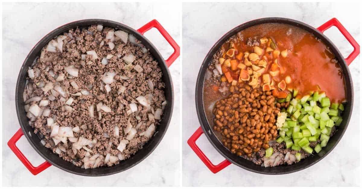 Hodge Podge Soup process images