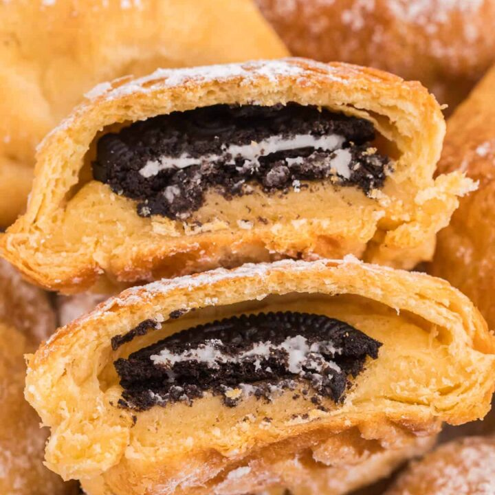 Air Fryer Oreos with Crescent Rolls