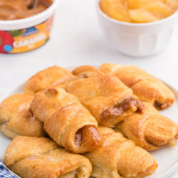 Caramel Apple Pie Crescents