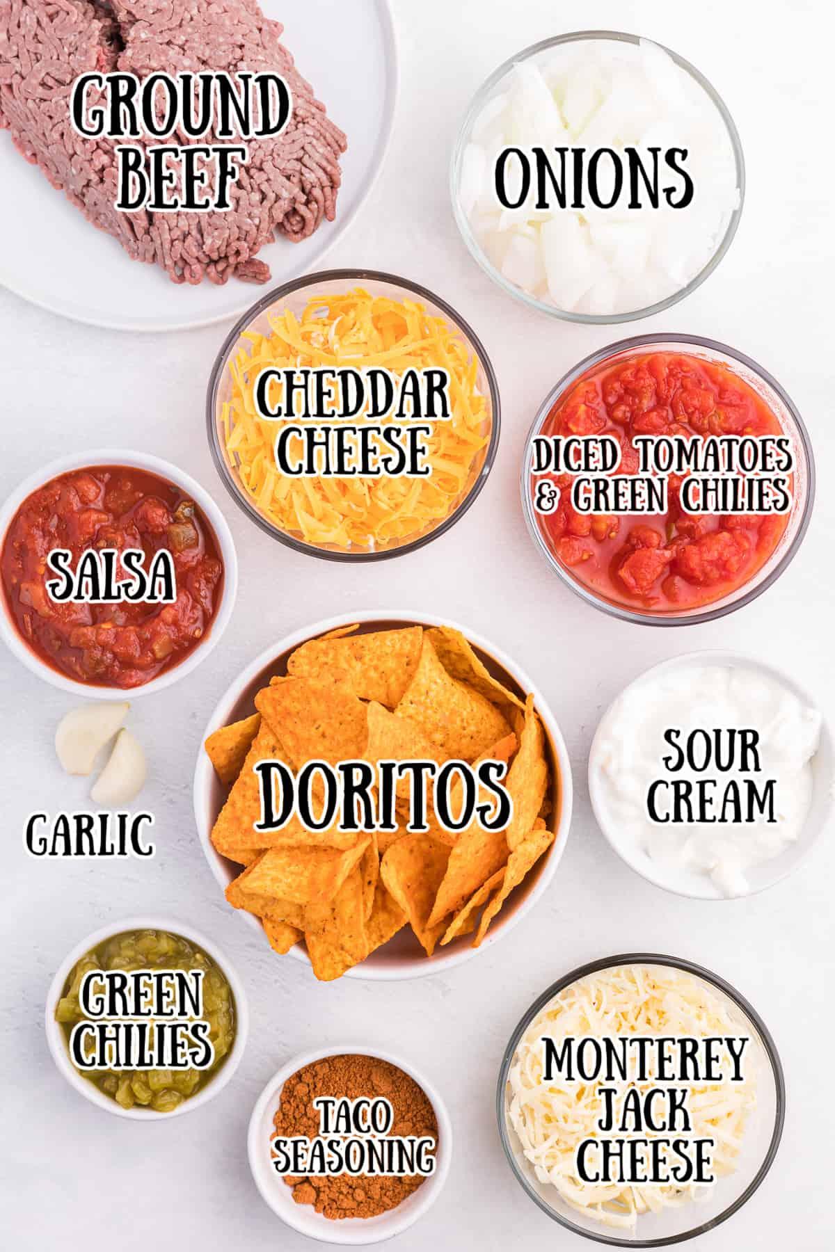 Doritos Casserole Ingredients
