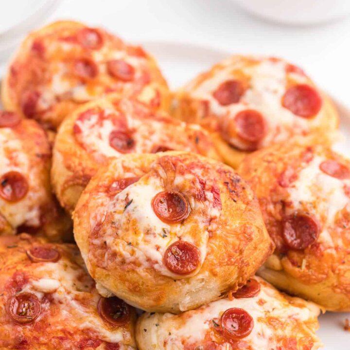 Air Fryer Pizza Buns