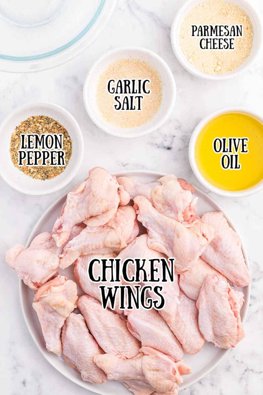 air fryer chicken wings ingredients