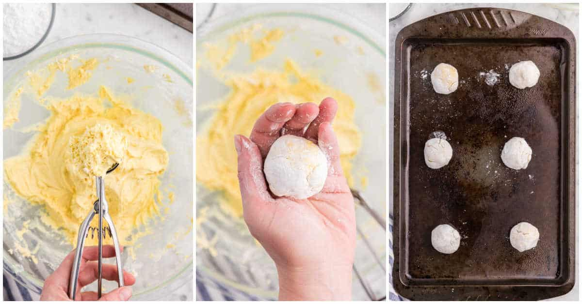Cool Whip Cookies Recipe prep