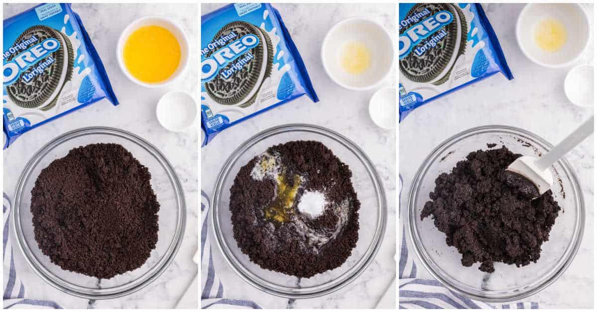 Steps to make Oreo pie