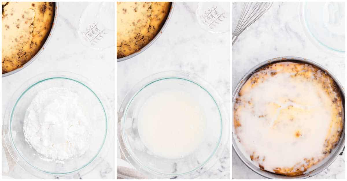 how to make the glaze topping