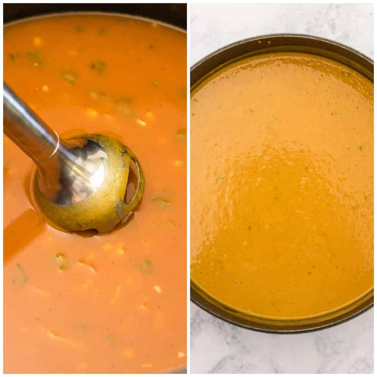 steps to make pumpkin soup