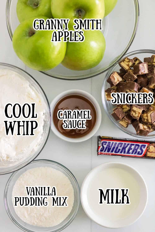 snickers salad ingredients