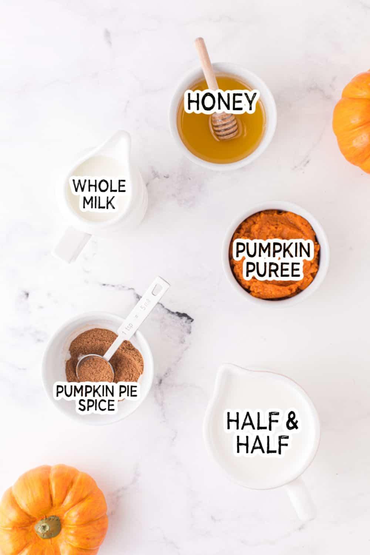 pumpkin spice creamer ingredients