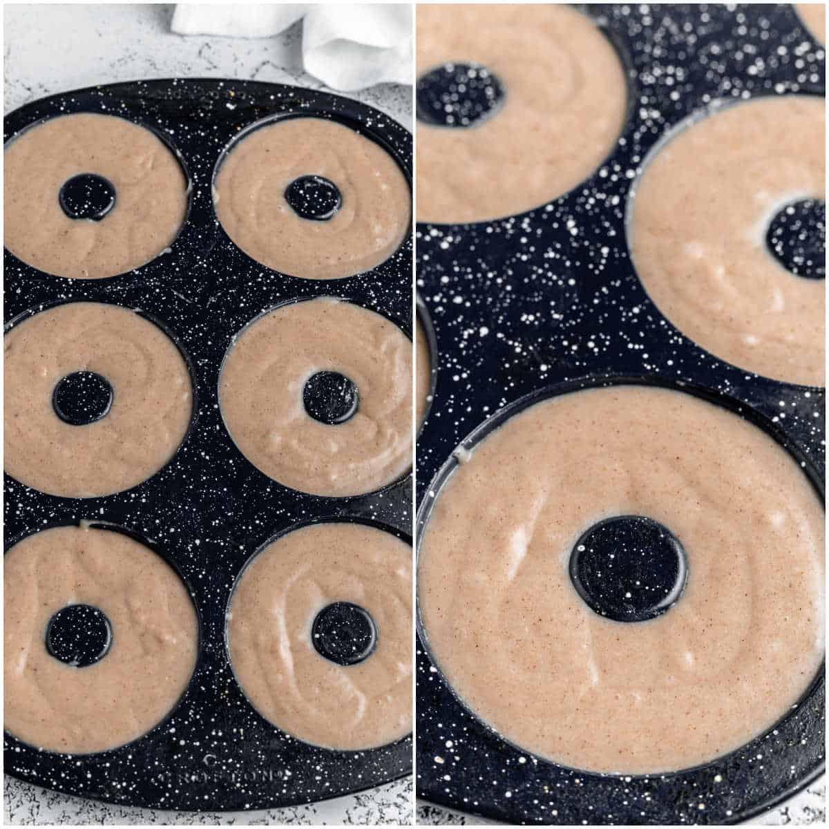apple cider donuts prep